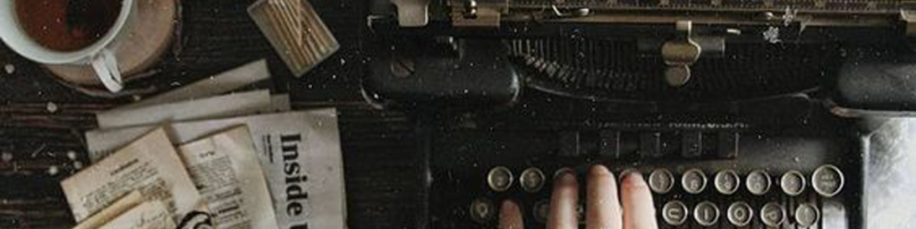 This image has an empty alt attribute; its file name is haunted-typewriter-header.png