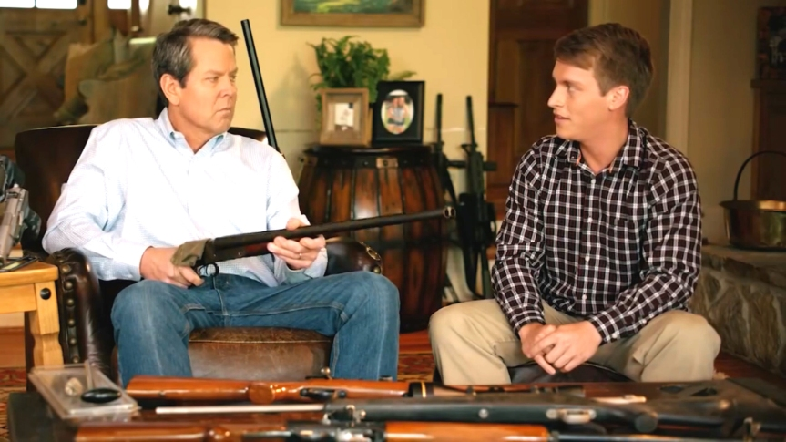 Brian Kemp Mandates his State CANNOT have Mask-Mandatory Laws Because He Does Not Know What Government is For – See His Ad On Wanting Gun Rights to Enforce Tyranny Over Who His DaughterDates