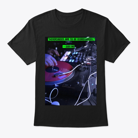 DISREGARD YOUR ADVERSARIES – New Shirt Design from 'Cyberpunk Dystopia Rebellion' on Teespring andEtsy