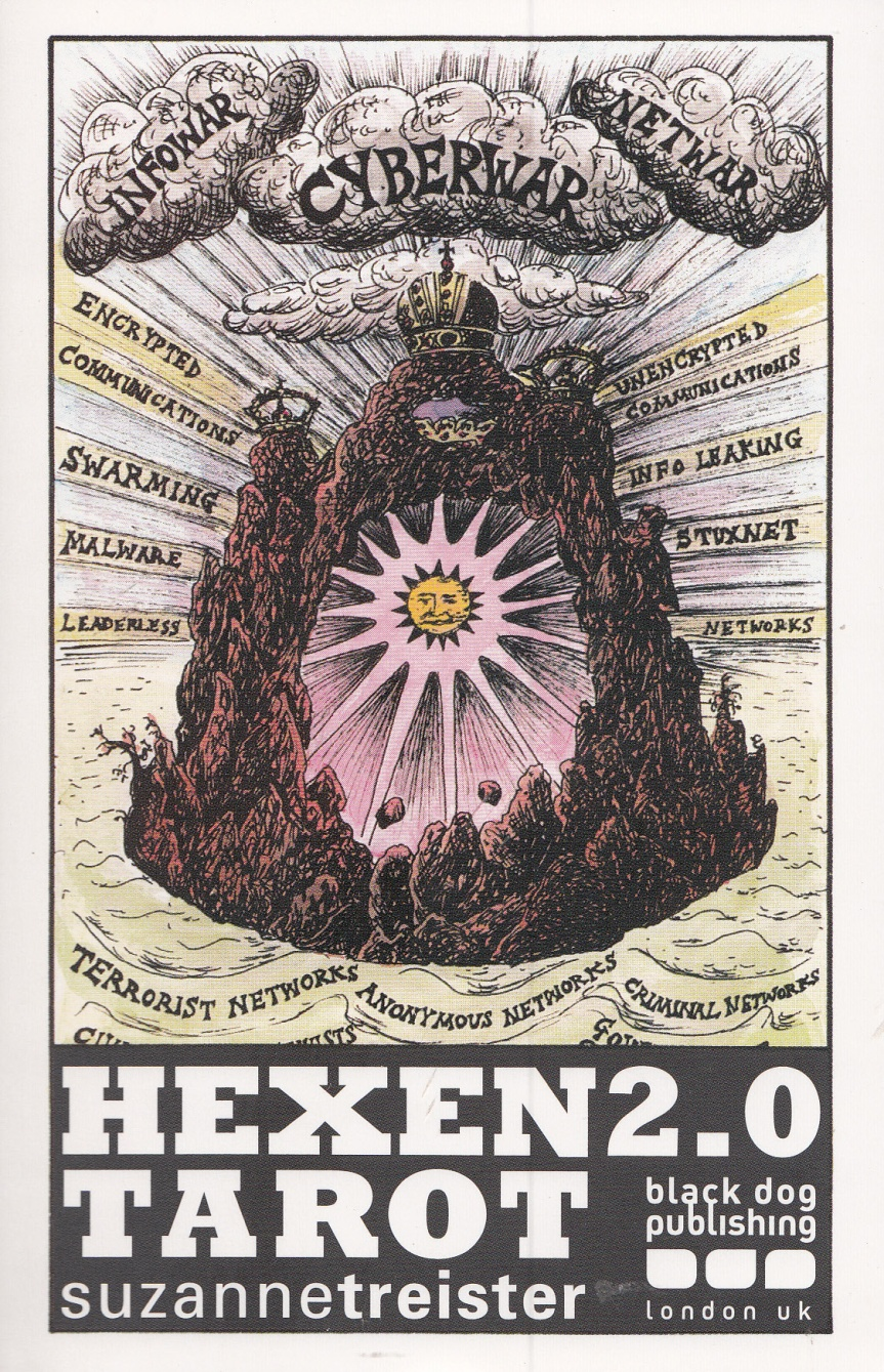 The Hexen 2.0 Tarot Deck Weds Cybernetics with Mystic Divination in a Far Out AlchemicalBlend