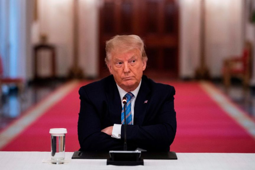 Trump Will Only Testify in Impeachment if Allowed to Wear 'Censored' T-Shirt, Mock Noose, Carry Air Horn to Personally Bleep Anything He Worries Might Be Problematic If HeardContextually