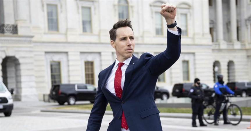 Josh Hawley Asks Christopher Wray Important Details About Gathering Information On Capitol Rioters, Hoping to See the List and Fill Out Ranks of GOP Elite 'SS' Safetey & SecurityForce