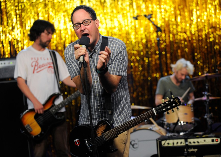 Advocating 'A New Kind of Family' Inveterate Rockers THE HOLD STEADY Has an OPEN DOORPOLICY