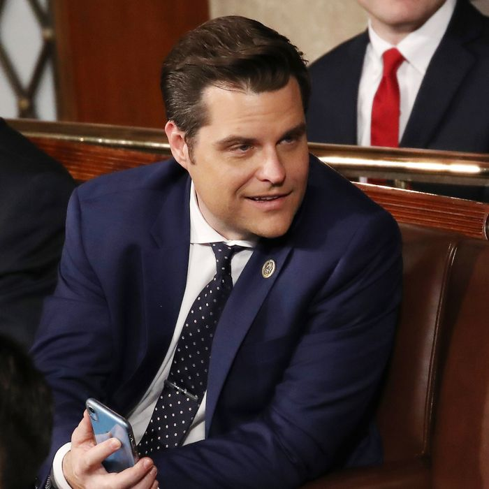 GOP Legislative Moves Largely Focused on Keeping Youth Away From Influences Like LGTBQ, Anything that Would Harm Their Desirability to Matt Gaetz