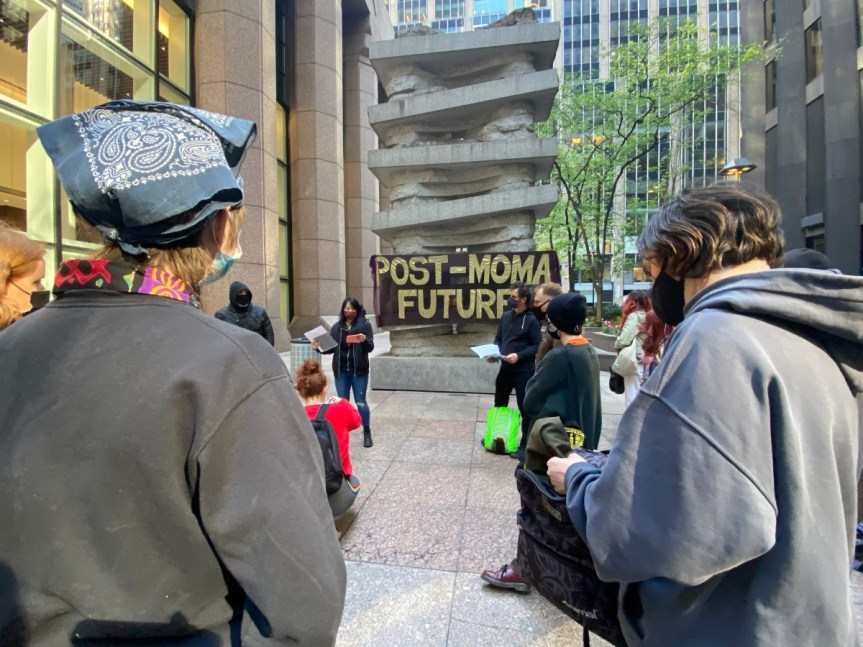 Activists are Protesting the Museum of Modern Art and Plotting Towards A Different Future for Art and Its A-Cumulative Cachet – Reblog fromHyperallergic