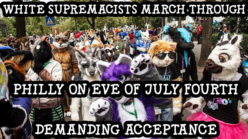 White Supremacists March Through Philadelphia To DemandAcceptance