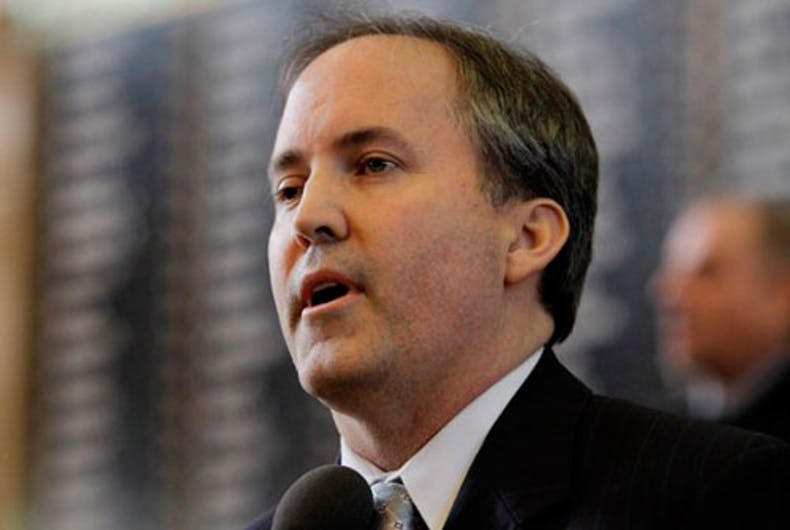 Darling Twink-looking Sissy Bitch Attorney General Ken Paxton sues Biden Admin for First Amendment Right to Misgender Trans Workers. You Go Girl! GetIt!