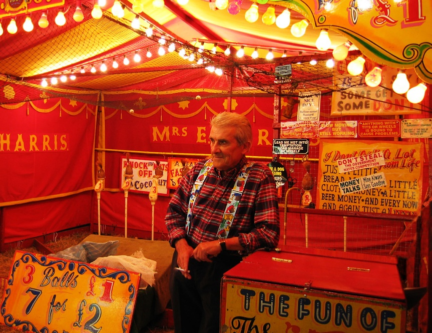 """My First Weekend as a Carny, I Discovered the Ritual Night Drinking and 'Loosening Screws' on the Rides. """"It's our Way of Having Fun. With What They Pay Us, You've Gotta Take What You CAnGet."""""""