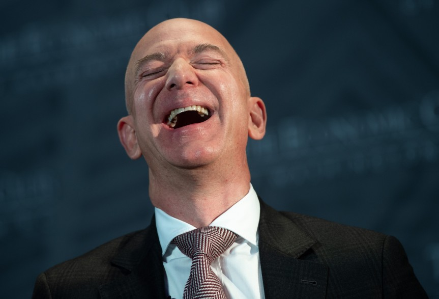 Jeff Bezos Continues His Conquest of Humanity's Final Frontier As Our Greatest Exploitative Anti-Humanist By Launching Into Space William Shatner, A Pioneer of Philosophical Artistic Social JusticeWarfare